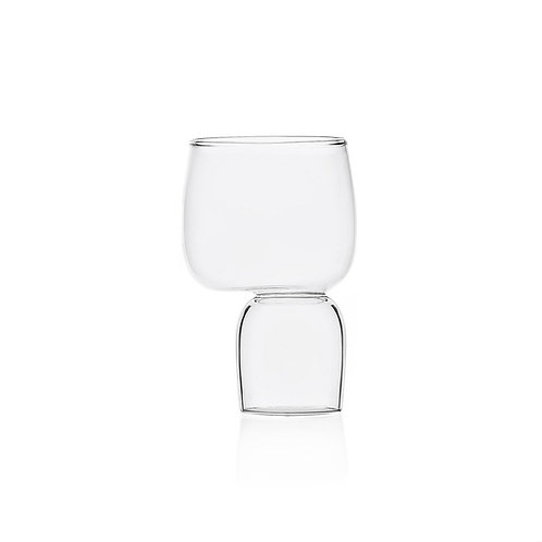 Kokeshi Water Stemmed Glass