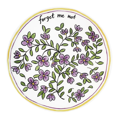 Forget Me Not - 8 in. Salad Plate