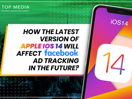 How will the latest version of Apple iOS 14 affect Facebook's ad tracking in the future?