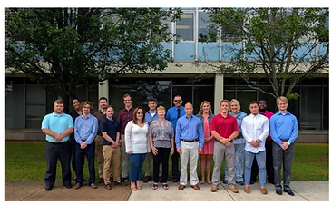 Jameson Holland (standing on the front row, 2nd from the left) joined Miller and Sullivan by also being featured as a superstar in Teledyne's press.