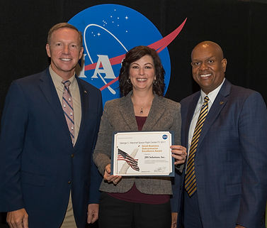 JBS Solutions – Marshall Space Flight Center – Small Business Subcontractor Excellence Award