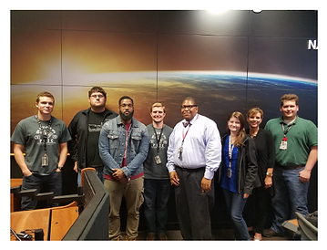Our Mission Operations and Integration employees John Miller (standing 4th from left) and Harold Sullivan (standing 5th from left) were featured in the July 2017 Edition of the Team Teledyne Press as June Superstars!