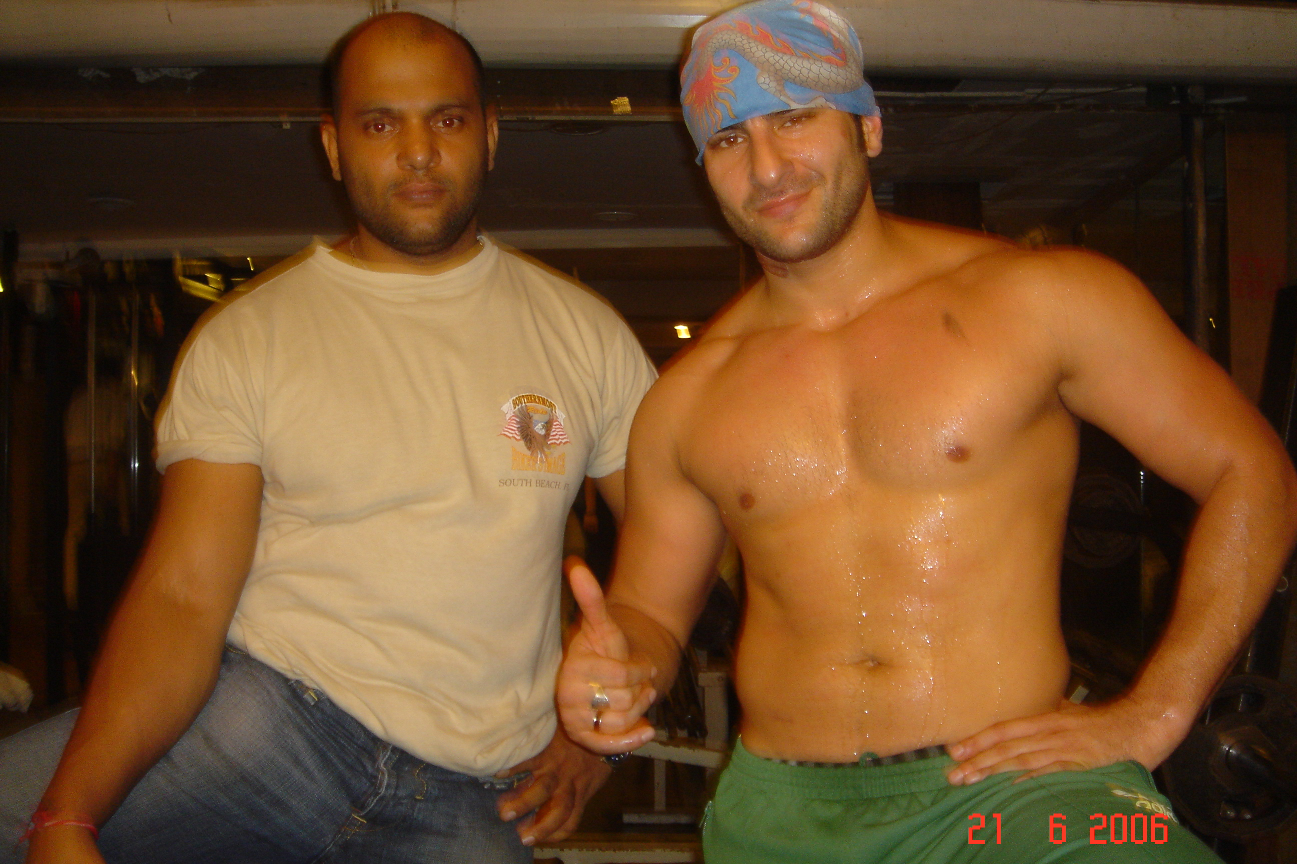 SAIF WHILE TRAINING