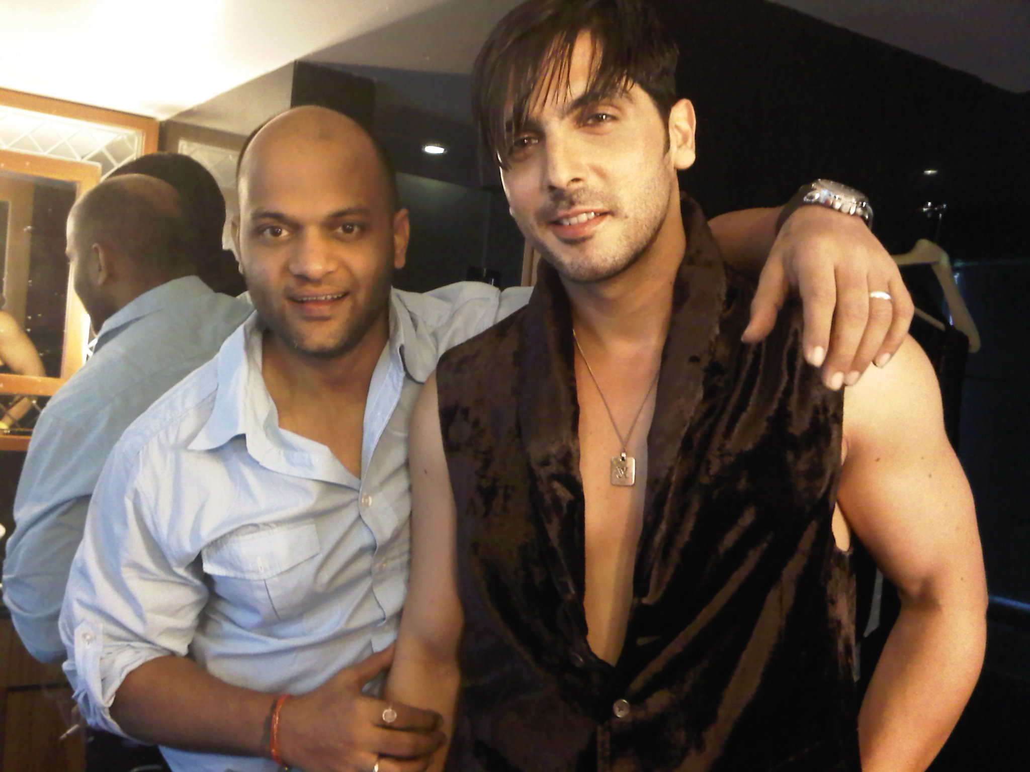 SATYA AND ZAYED KHAN - BEST FRIENDS