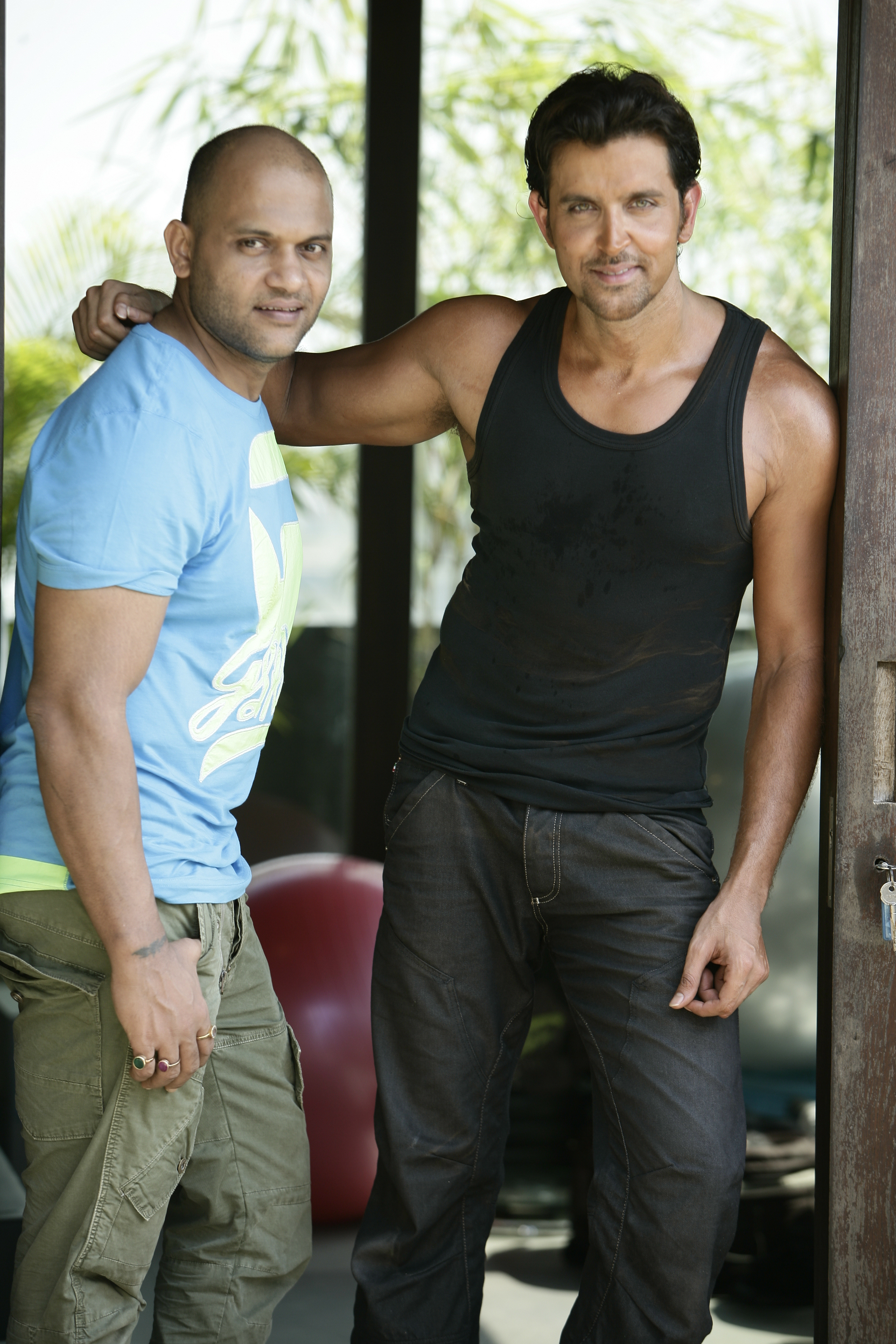 Satya with Hrithik