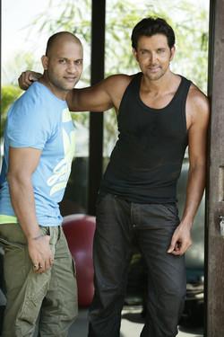 Satya with Hrithik