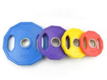 Rubberized Weight Plate Set 140 Kg