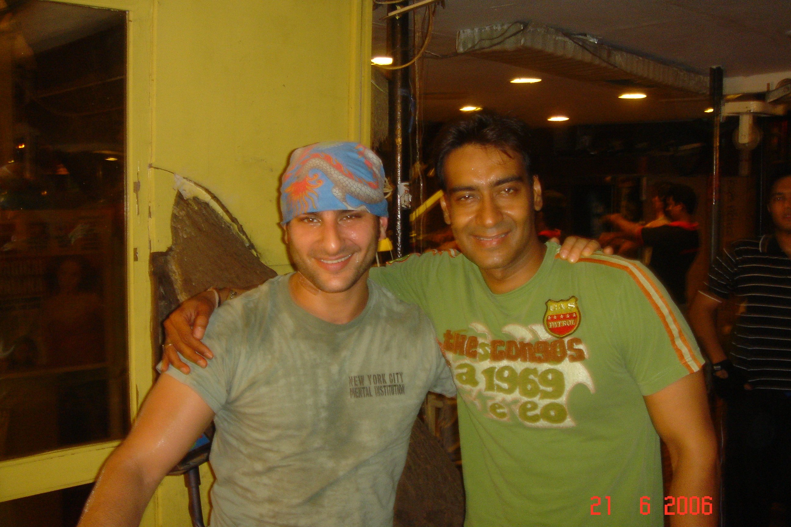 SAIF WITH AJAY DEVGAN