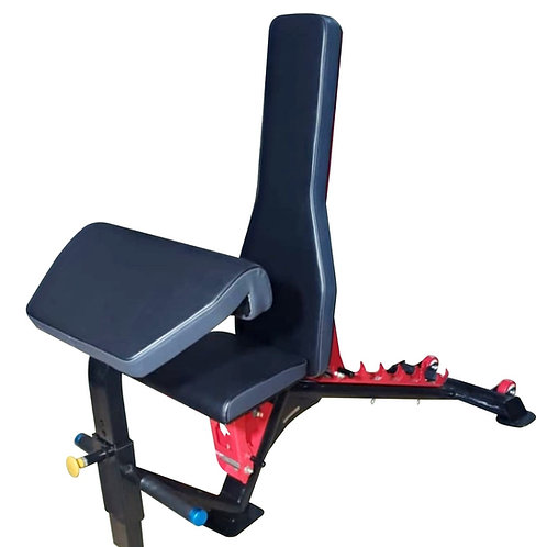 Adjustable Bench with Prechure Curl