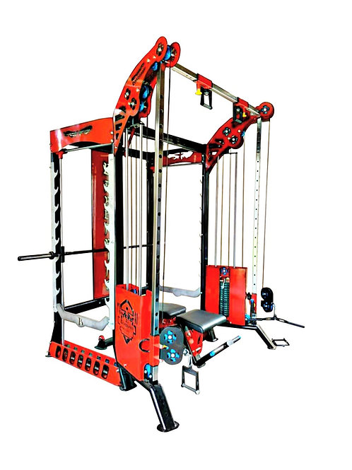 Cable Cross Over with Smith 360 Power Cage