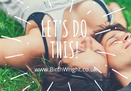 My 5 Steps To ASuccessful Hypnobirth: Let's Do This!