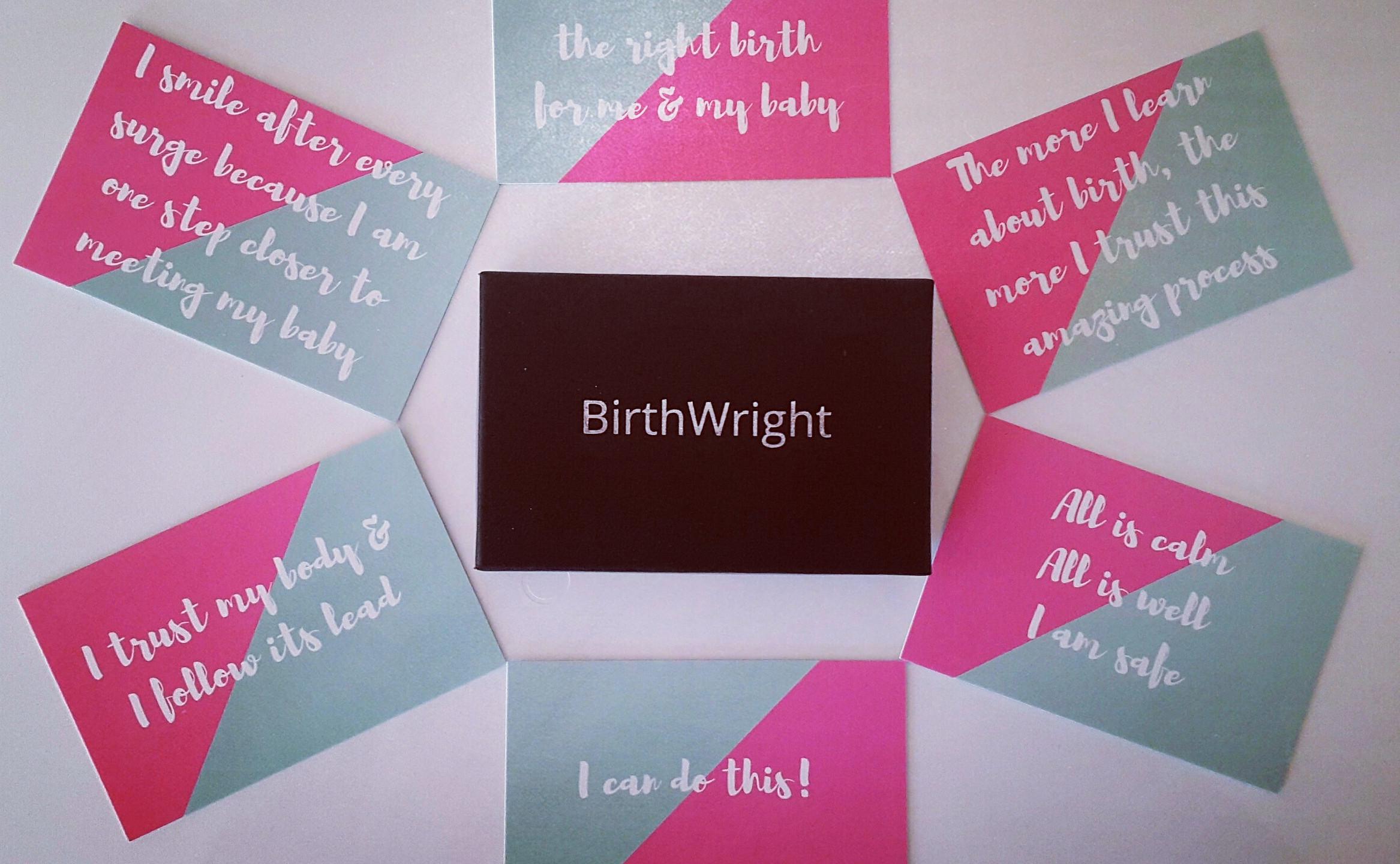 BirthWright Affirmation Cards