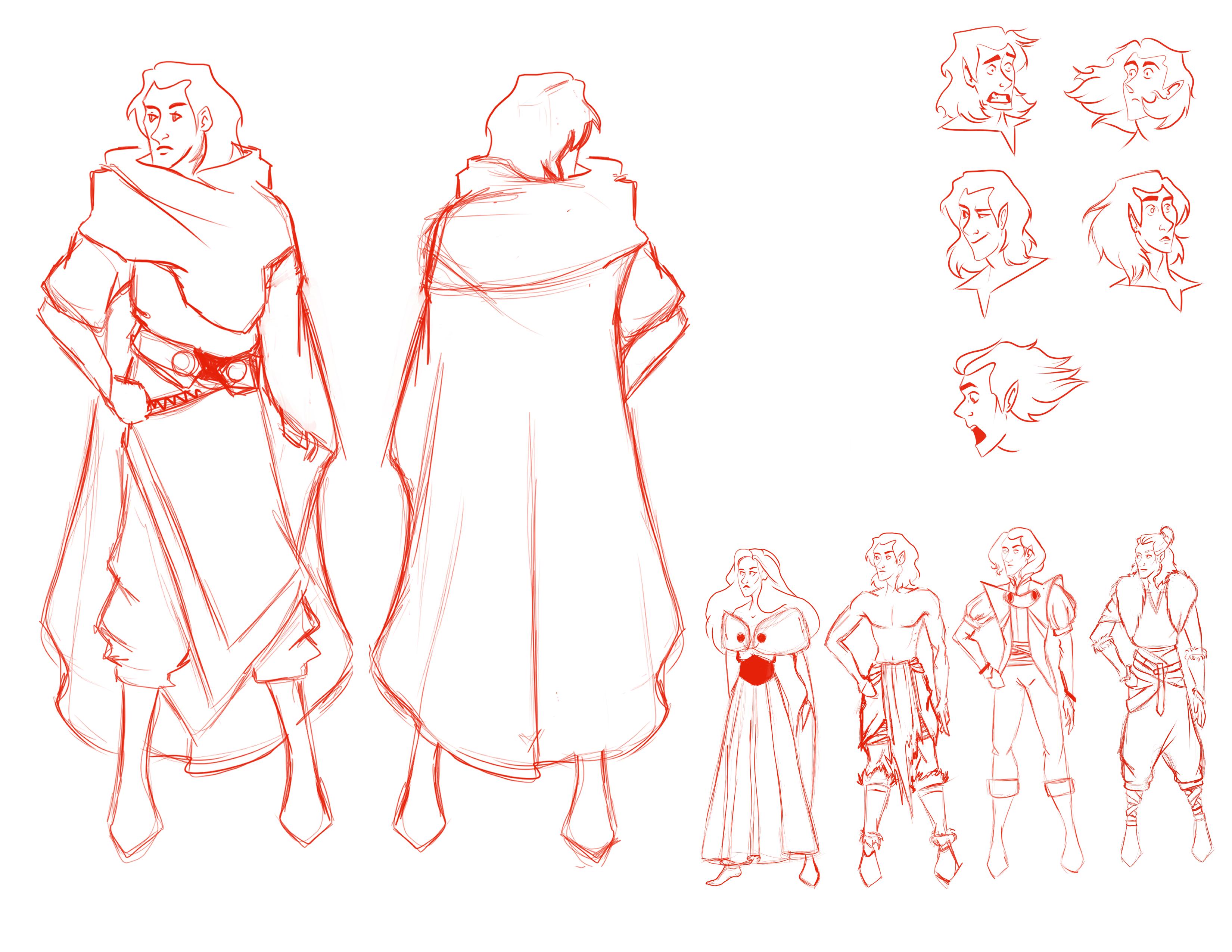 loki character design