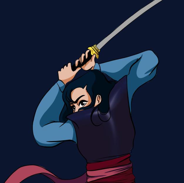 Blade - inktober 5