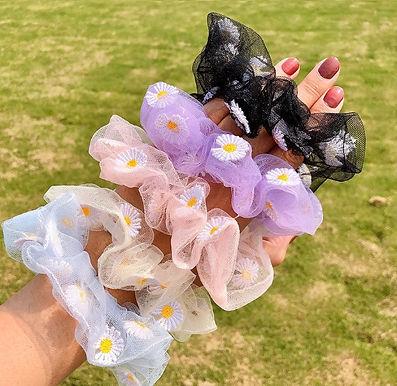 Bloemen Scrunchies