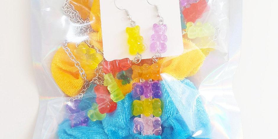 Scrunchie Set Gummy Bear
