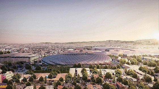 AECOM Tapped to Design Clippers Arena Complex in Inglewood