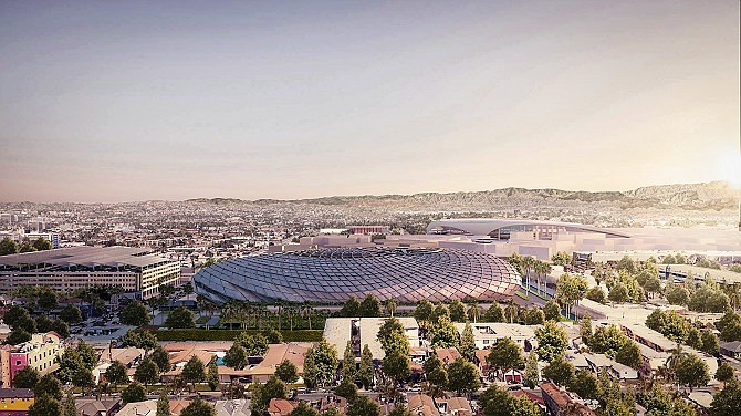 Los Angeles Clippers Stadium (rendering)