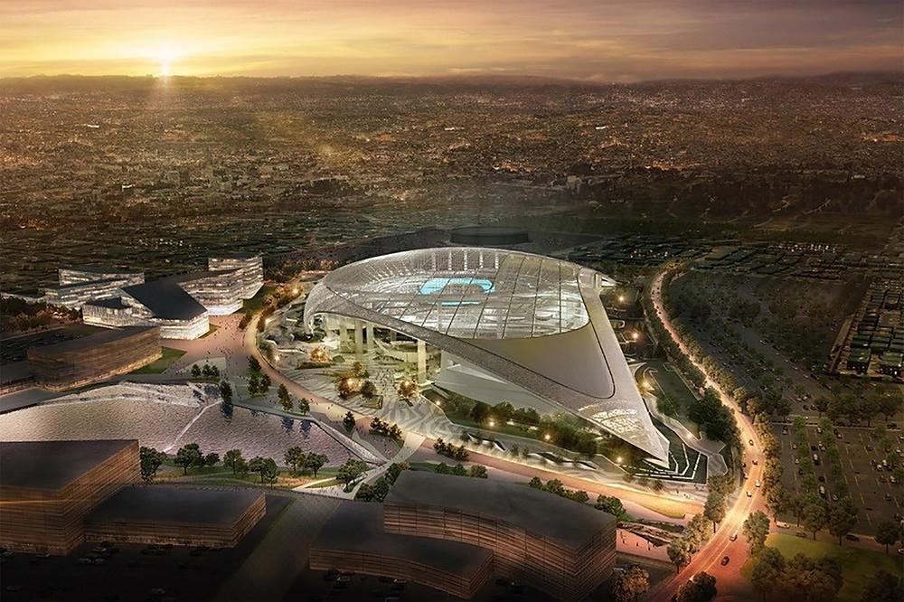 New SoFi Stadium Los Angeles - Home of the Rams