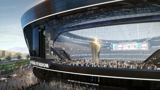 Stadium with a view: Lanai doors, translucent roof  will give Raiders stadium outdoorsy feel!
