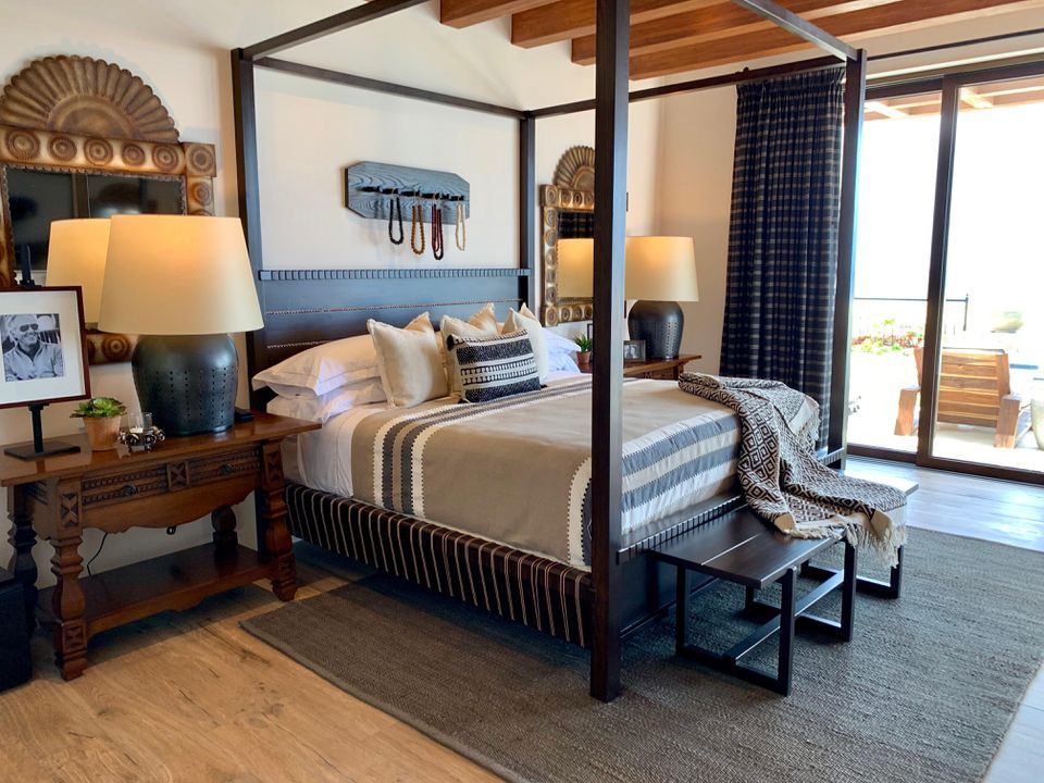 Golfer Greg Norman Estate Homes Master Bedroooms