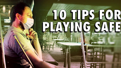 10 TIPS FOR POOL PLAYERS TO PREVENT SPREADING COVID-19