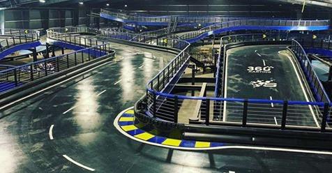 World's largest indoor go-kart complex opens in Massachusetts
