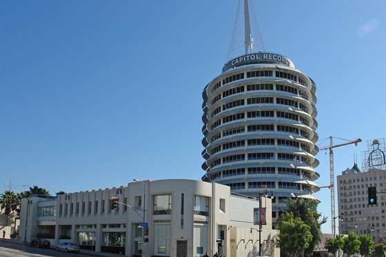 Iconic Capitol Records Tower in Los Angeles Marks 65-Year Milestone