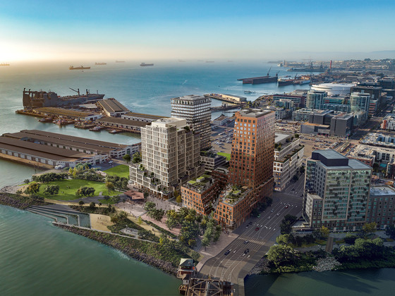 San Francisco Giants Release California-Inspired Designs for Waterfront District Near Ballpark