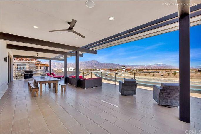 Thermal Club California Deck Real Estate