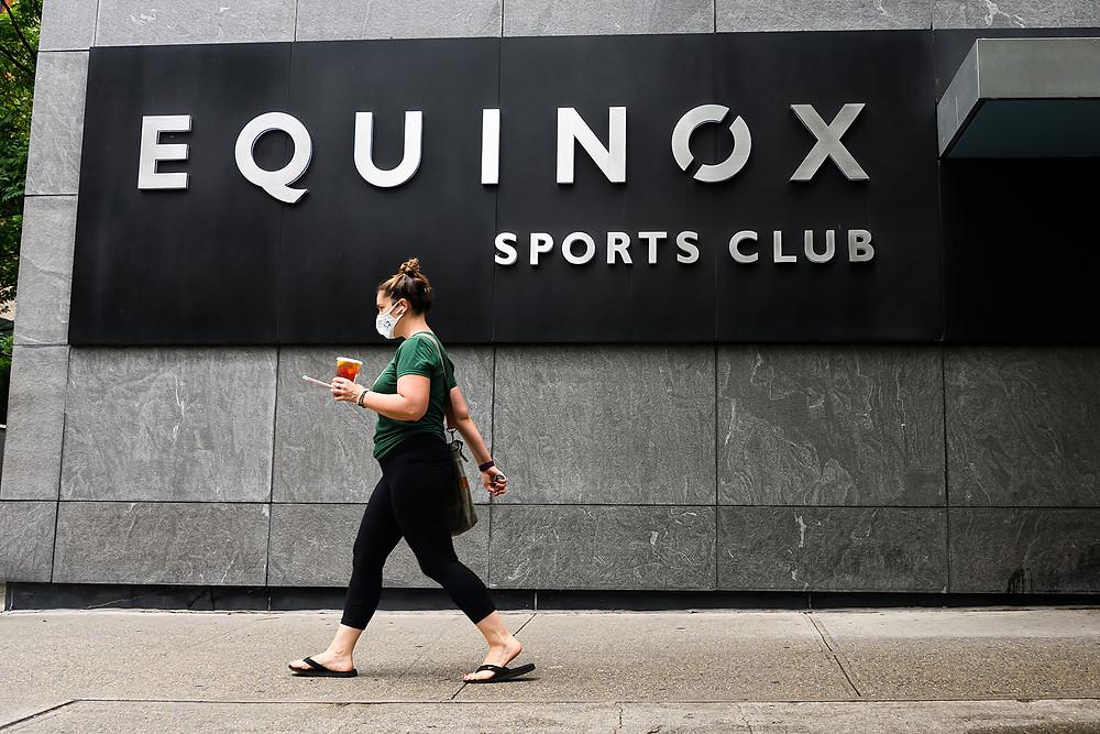 NY Based Equinox Fitness Centers