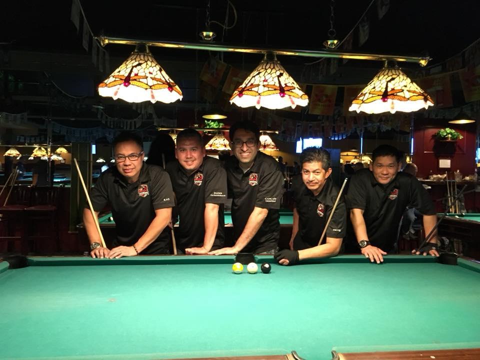 Team Spartans - Premier Billiard Leagues - Big Track Division - Fantasia Billiards