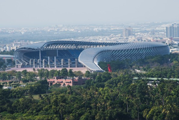 Kaohsiung National Stadium, Taiwan