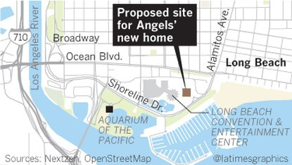 Proposed Long Beach Site - Angels