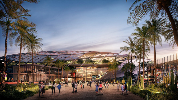Clippers New Arenain Inglewood