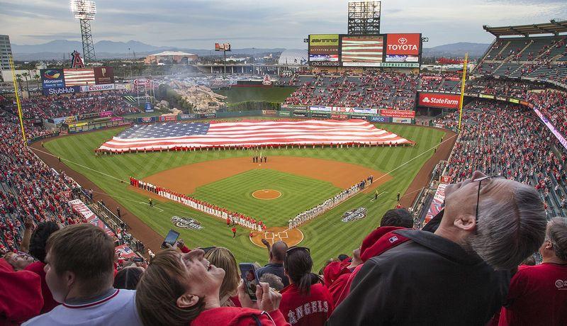 Angel's Home Opener 54th Season at Angel's Stadium