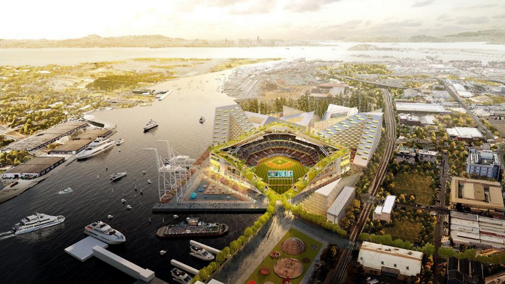 Oakland A's Proposed Stadium