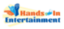 Hands In Entertainment Logo with glow.pn