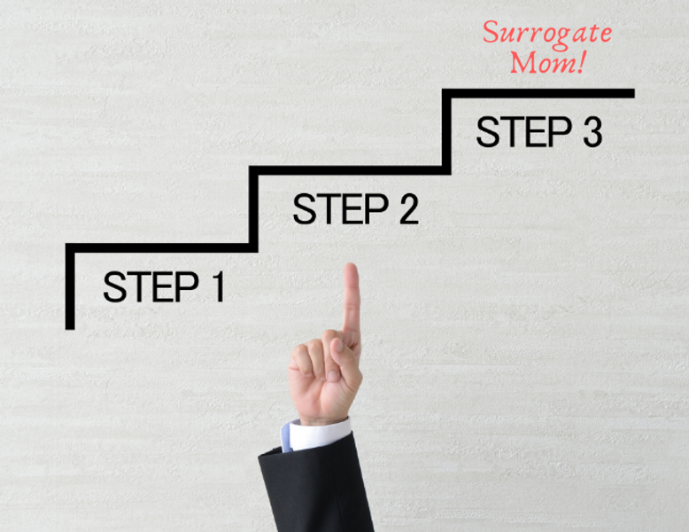 Surrogacy process overview for intended