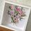 Thumbnail: Floral Bouquet Shadow Box Frame