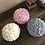 Thumbnail: Large Rose Ball Bouquet Soy Wax Candle