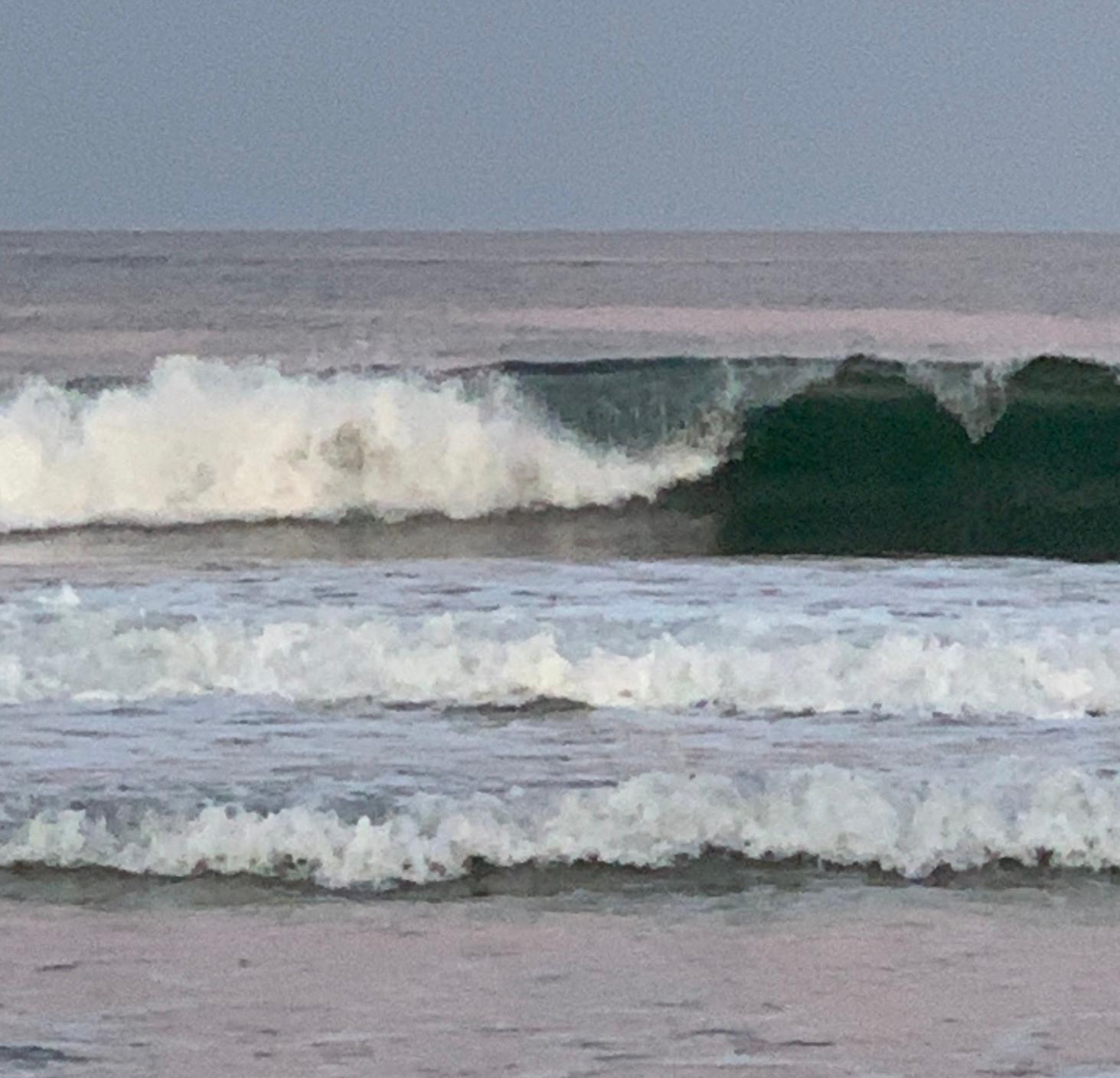 Ocean Waves in Oils