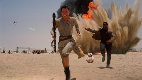 Star Wars: The Force Awakens: Not Exactly Original, but Still a Fun Adventure (Blu-ray)