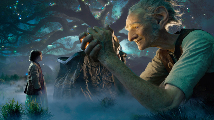 The BFG: A Surprisingly Uninspired Spielberg Offering (Blu-ray)