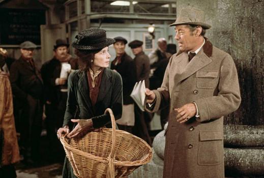 "Audrey Hepburn and Rex Harrison in ""My Fair Lady"""