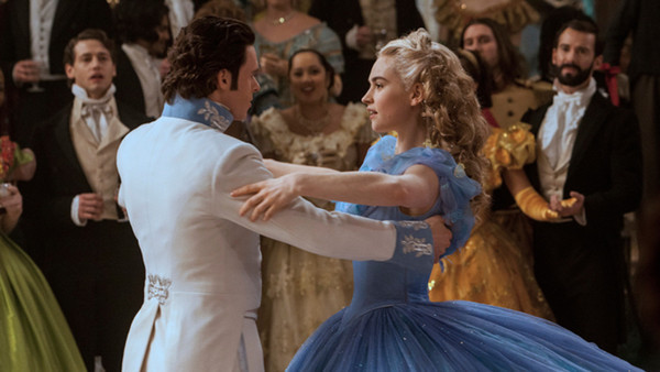 "Richard Madden and Lily James in ""Cinderella"""