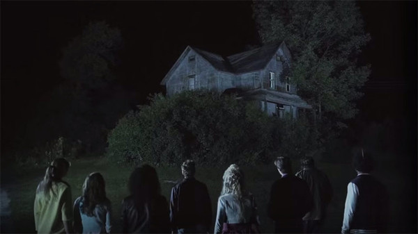 "A group of teens decides to explore an old, spooky house in ""Lost After Dark"""
