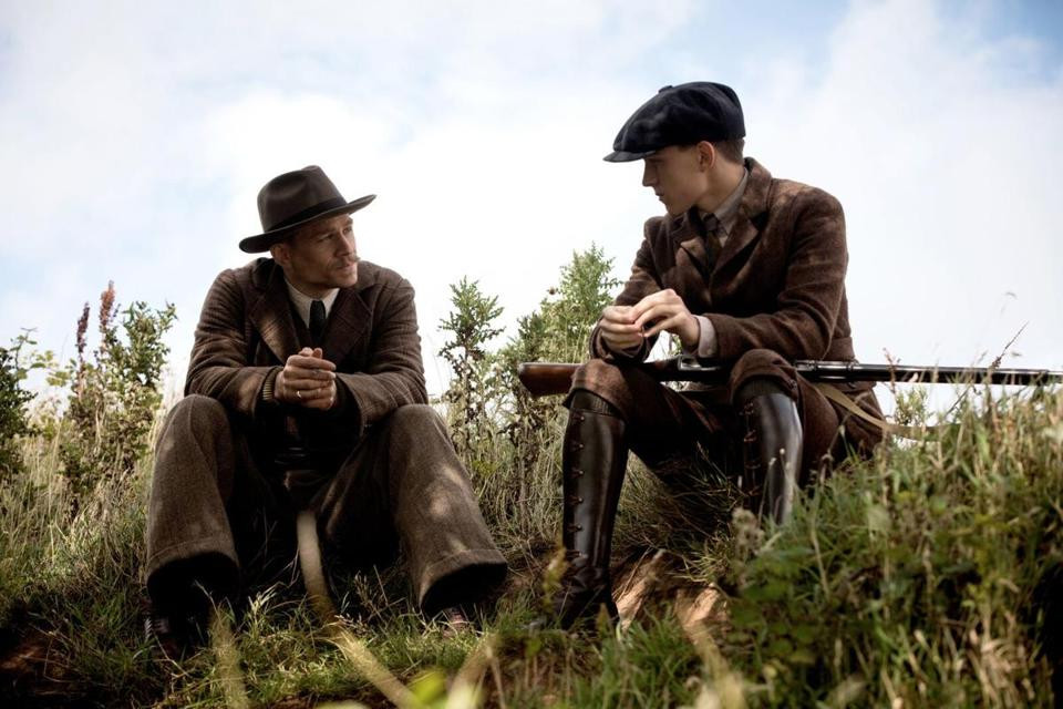 "Charlie Hunnam and Tom Holland in ""The Lost City of Z"""