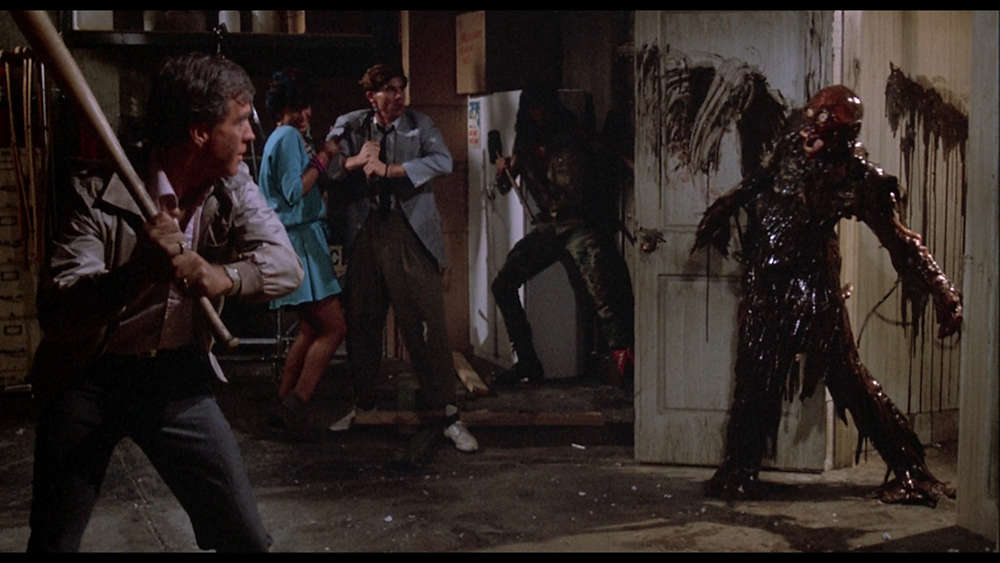 "The dead are on the rise in Dan O'Bannon's zombie classic ""The Return of the Living Dead"""