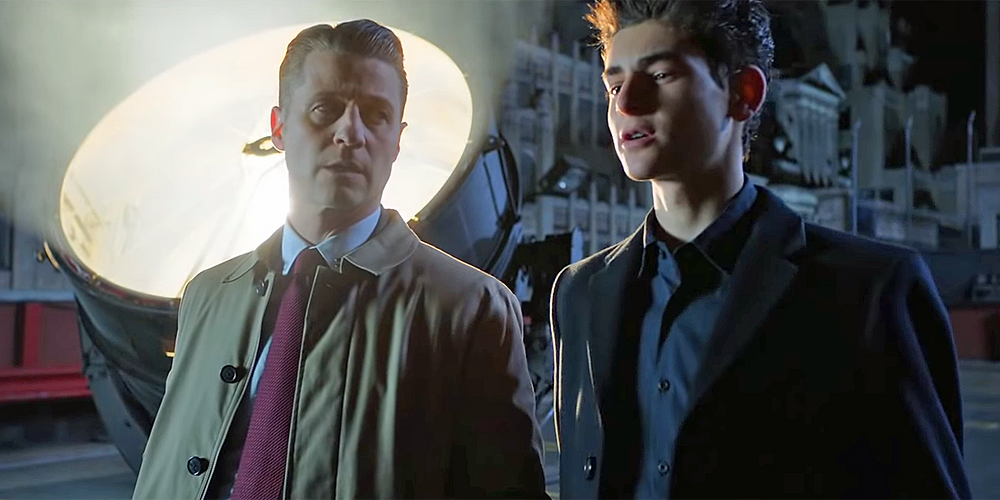 "Ben McKenzie and David Mazouz in ""Gotham"""
